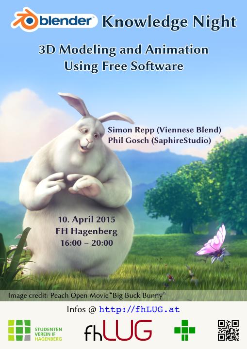 Bug Buck Bunny Poster